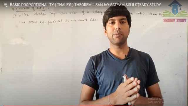 Sanjay made math videos,put on YouTube
