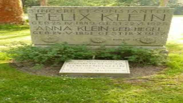 Mathematician Felix Klein