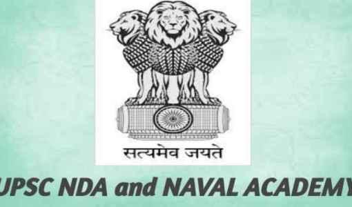 UPSC NDA and NA 2 2021 Form Released