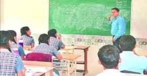 IG A Satish Ganesh Taught Mathematics to Children in School,IG A Satish Ganesh