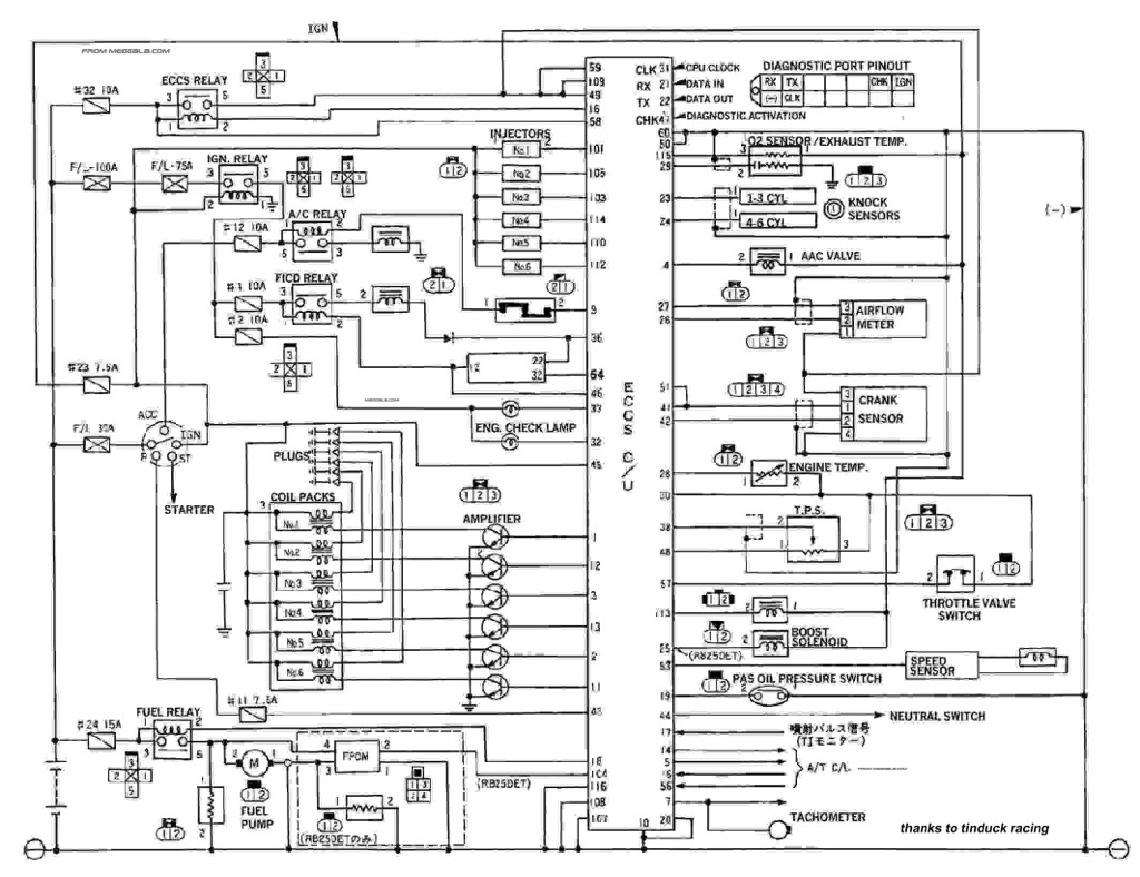 skyline r33 gtst wiring diagram york heat pump thermostat electric fan setup - general maintenance sau community