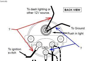 Autometer Oil Pressure Gauge Wiring Shortcut?  General