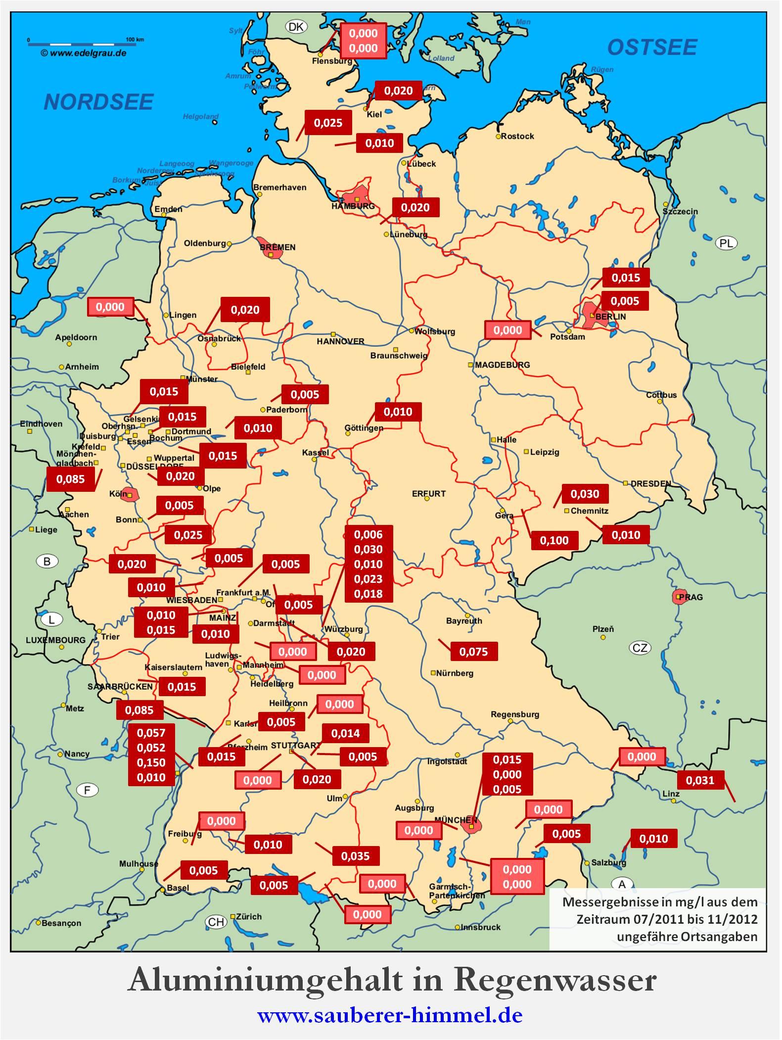 """bunker karte deutschland Umweltbundesamt """"darf"""" Aluminium, Barium und Strontium in der Luft  bunker karte deutschland"""