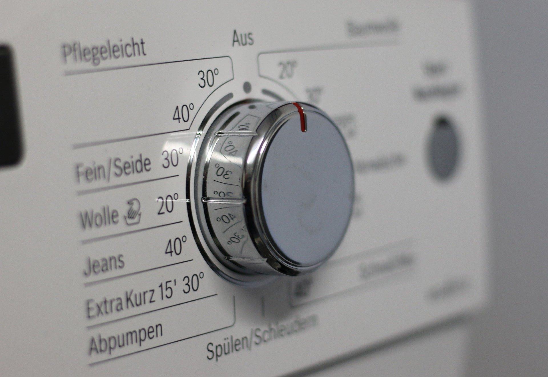Waschmaschine verschiedene Programme