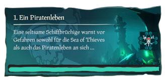 Sea of Thieves A Pirate's Life Seemannsgarn Guide - Ein Piratenleben