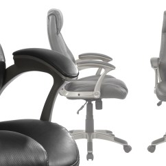 Office Chair Leather Folding Tattoo Gruga Chairs Executive Desk