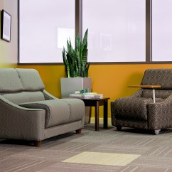 Lobby Sofa Crossword Small Sized Sofas Cavetto Chair And Loveseat Sauder Education