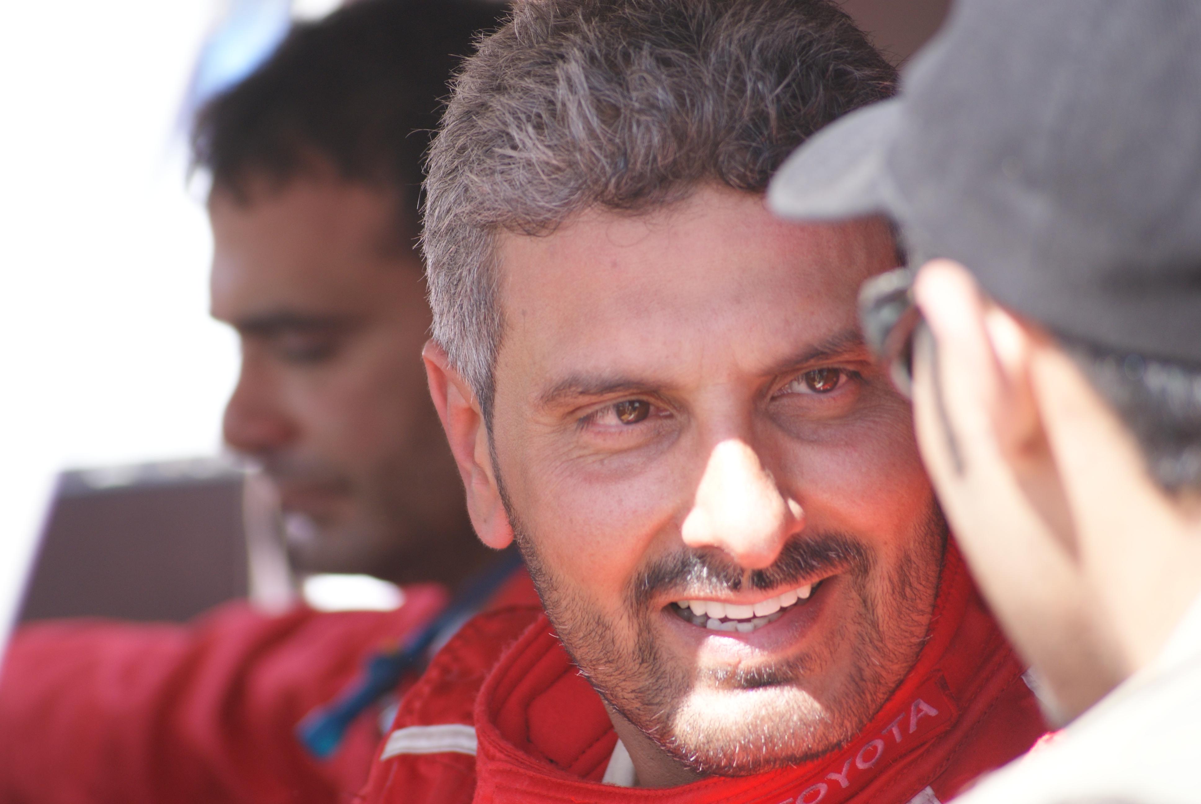 Abdullah Bakhashab at the Ha'il Rally