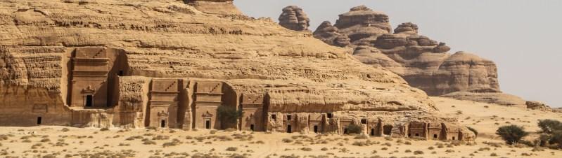 Nabatean tombs in Hegra / Maddain Saleh (photo: Florent Egal)