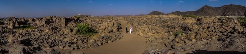 Al-Ukhdood archeological site in Najran City (photo: Florent Egal)