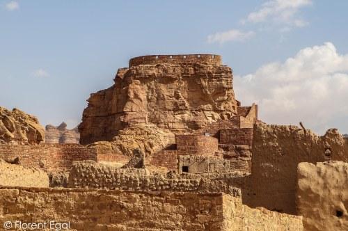 Musa Ibn Nusayr Fort at Al-Ula Heritage Village (photo: Florent Egal)