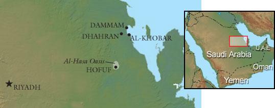 Hajar map