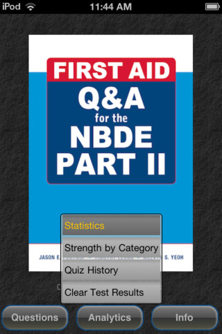 App | NBDE Part II First Aid Q&A