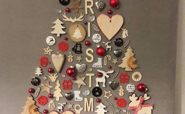 50 Diy Christmas Wall Decor Ideas For 2019 That Spells