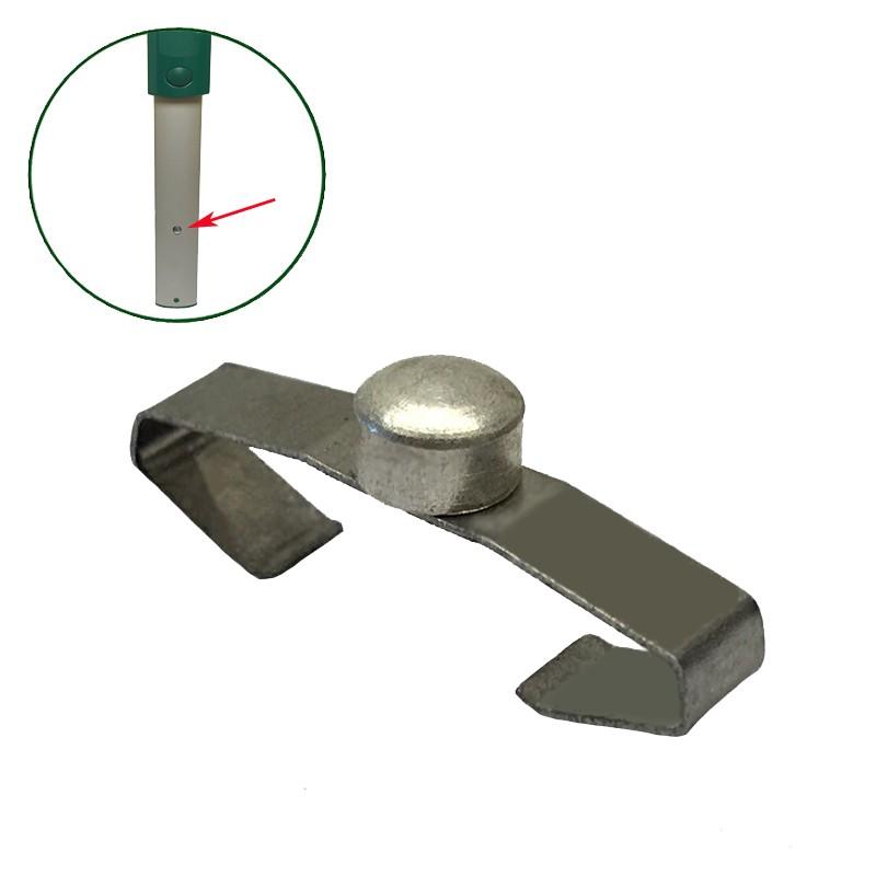 Stielfeder Stielarretierung Druckknopf geeignet Vorwerk Kobold VK 130 und VK 131  saugerservice