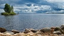 Näkymä Alassalmelta Oulunjärvelle