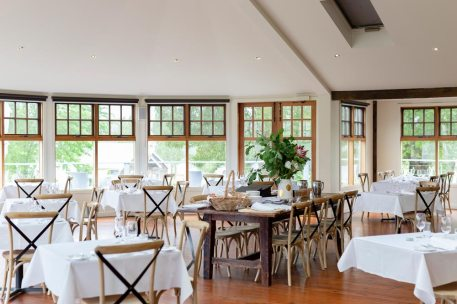 The Dining Room and bay windows