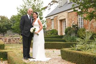 Belinda & Michaels Wedding at Sault Restaurant Daylesford (5)