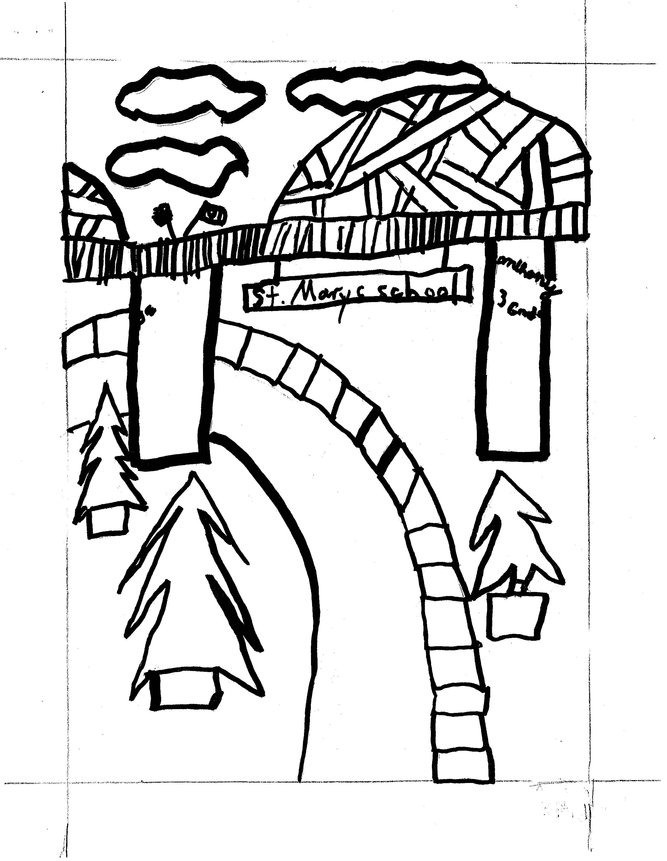 Pharmacy Coloring Contest Sheet Coloring Pages