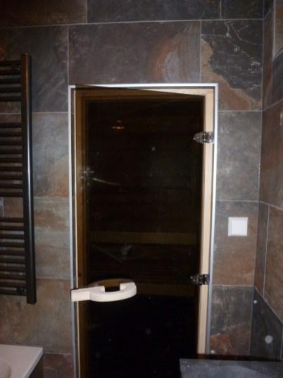 Vanuit de luxe badkamer
