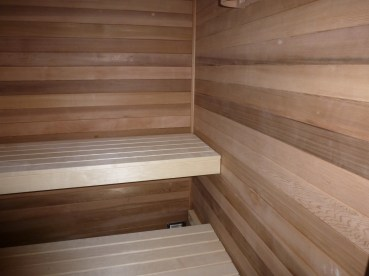 Western red cedar met espen bank