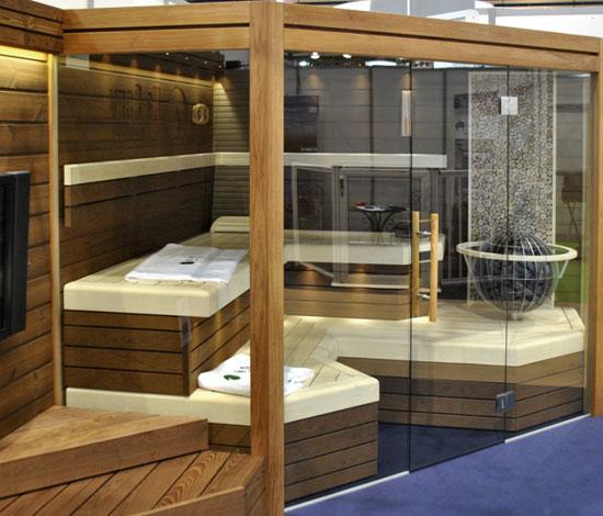 Sauna finlandese angolare Balance 207 x 207 x 201