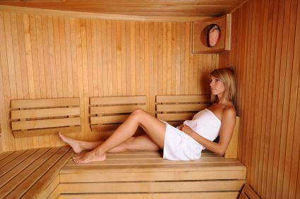 Pictures of Sauna Girls  Photos of Women Relaxing in Towels