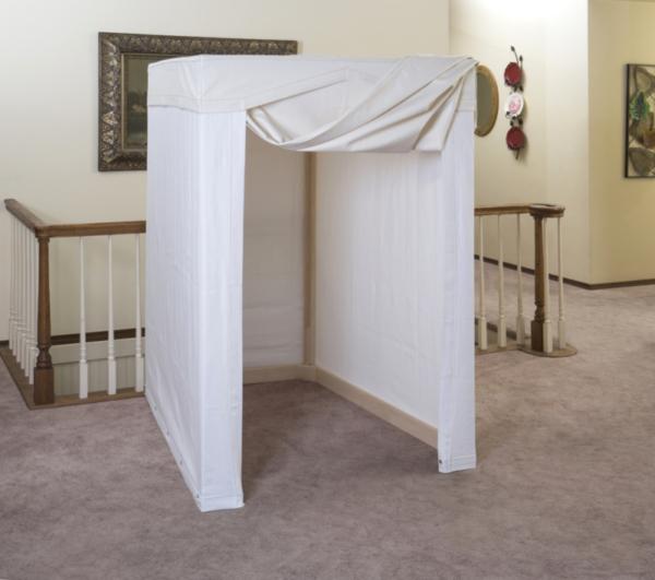 Sauna Tent Open Door