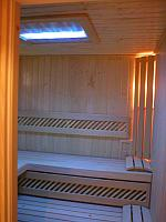 Detail sauny