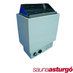 Calentador con mandos incorporados ideal para hogares
