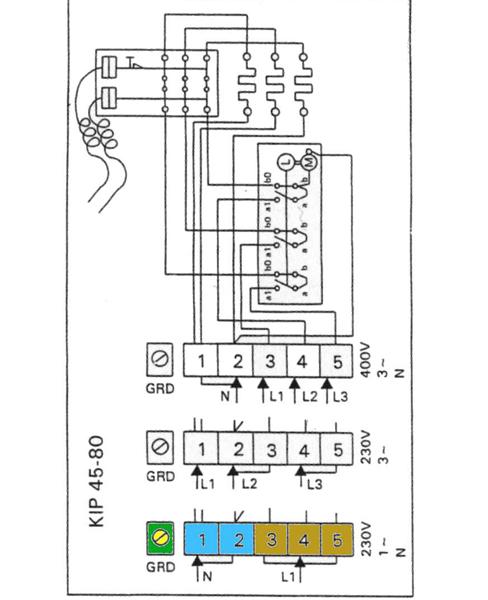 sauna wiring diagram