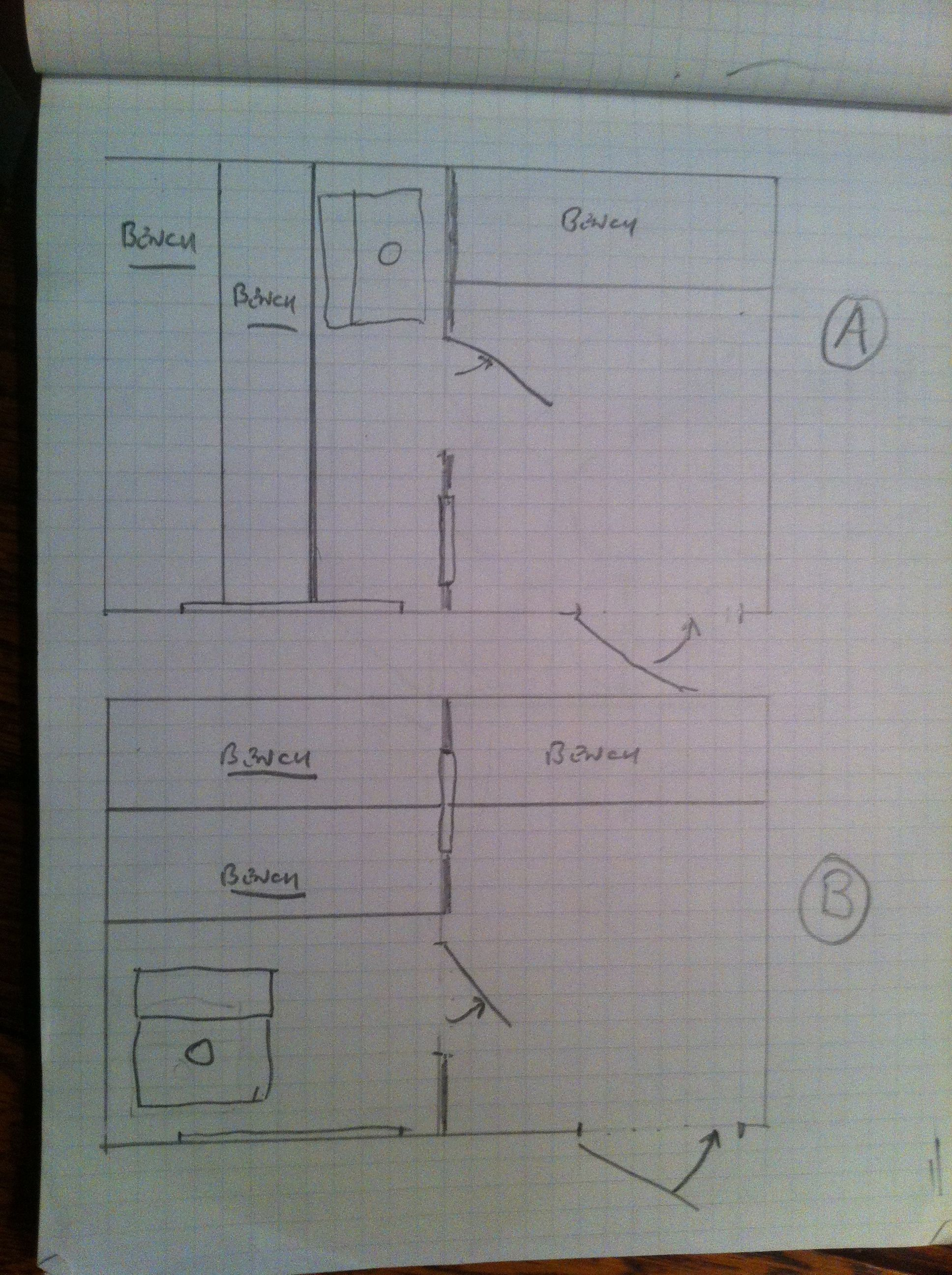 hight resolution of 8x12 sauna plans