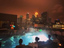 Downtown Minneapolis Hewing Hotel With Aufguss Sessions