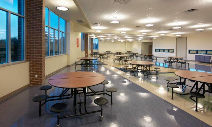 Hinkley High School Renovation  Addition  Saunders