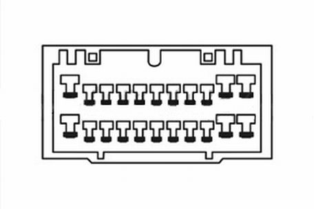ISO redukcia pre montáž autorádia-CHRYSLER new,DODGE,JEEP