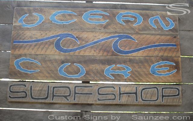 Saunzee Signs  Vintage Signs