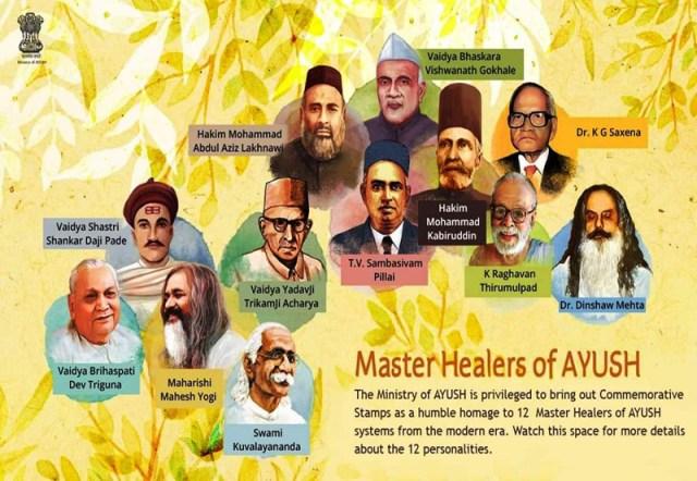 master healers of AYUSH