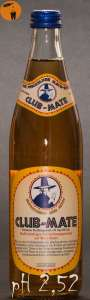 Club Mate pH Wert 2,52