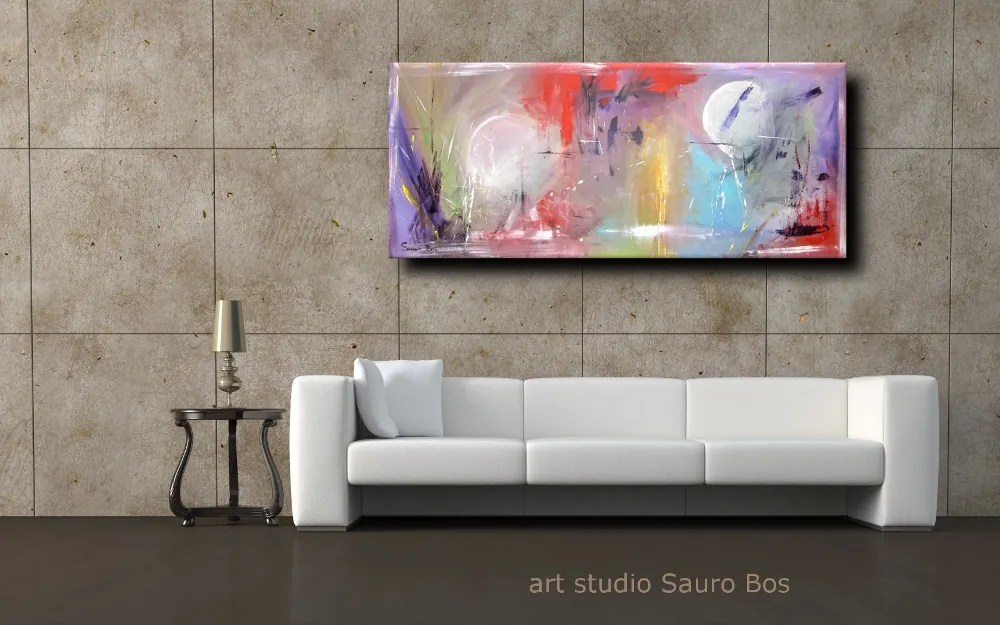 quadri astratti lunghi  sauro bos