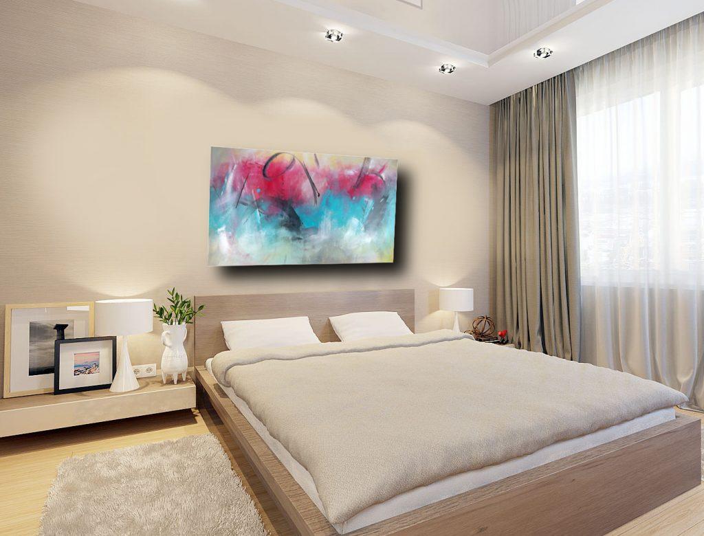 quadri per camera da letto astratti  sauro bos