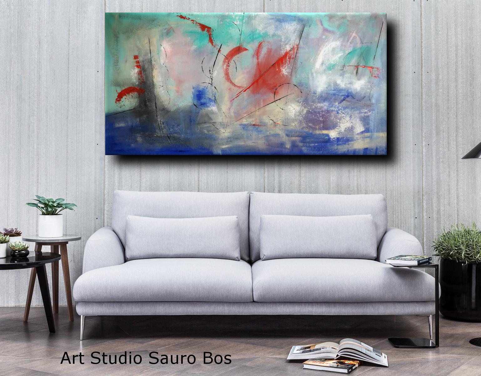 quadri astratti per arredamento moderno xxl 200x100