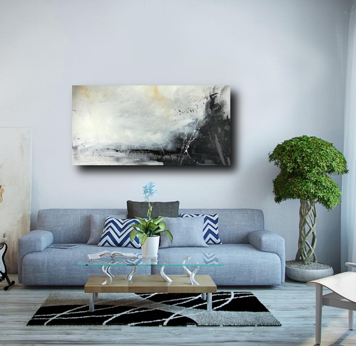 I quadri moderni di darcoarte nascono dalla passione e dall'amore verso l'arte. Quadri Soggiorno Grandi 120x60 Bianco E Nero