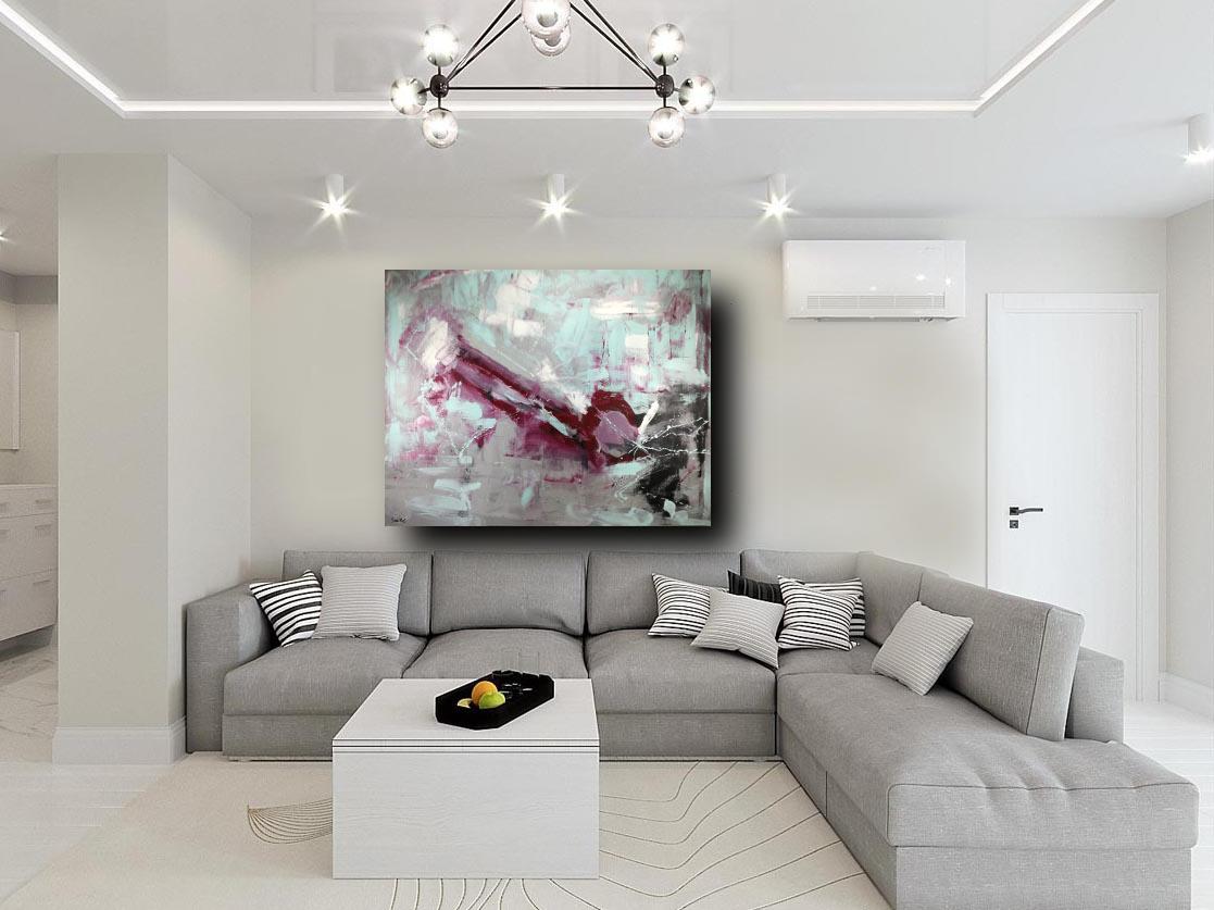 Stampa su tela canvas arredamento arte astratto xxl arredo per soggiorno. Quadro Moderno Per Soggiorno 170x130