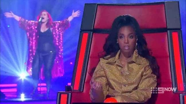 Kelly Rowland is not impressed with Ellen Reed's performance on The Voice Australia | Sausage Roll