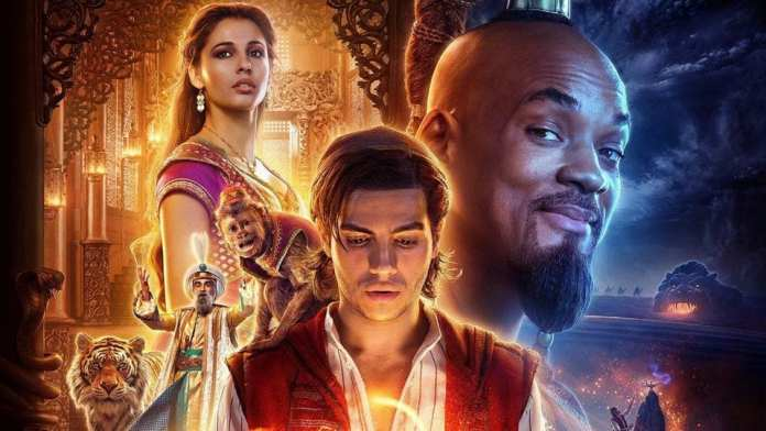 Aladdin Movie Poster   Sausage Roll