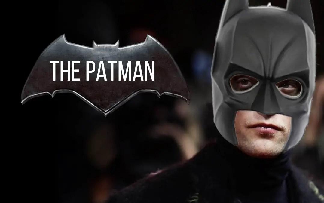 Robert Pattinson is Bruce Wayne aka The Batman | Sausage Roll