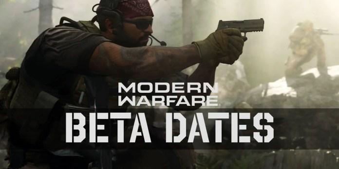 Call of Duty: Modern Warfare beta dates | Sausage Roll