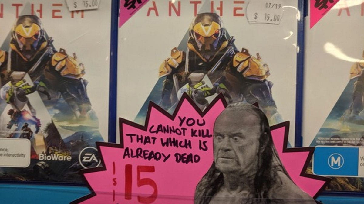 Australian retailers know Anthem is dead