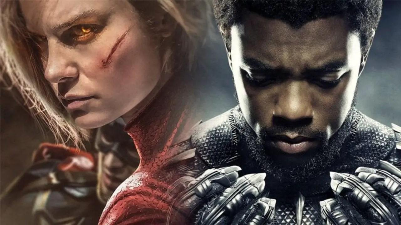 Black Panther kills Captain Marvel in sales