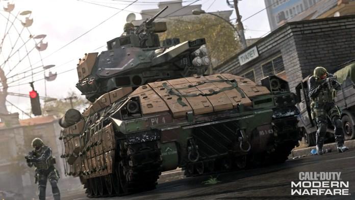 Modern Warfare tank & vehicles| Sausage Roll